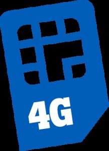 Fallback verbinding met 4G sim